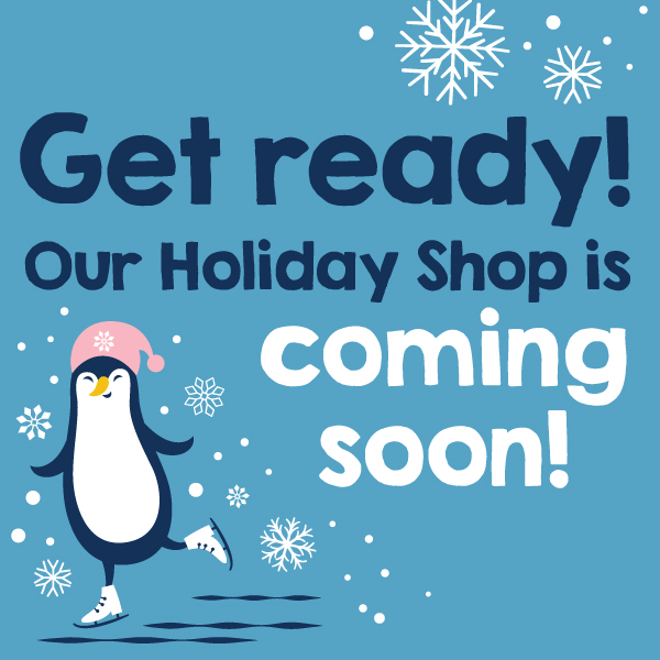 holiday shop is coming soon